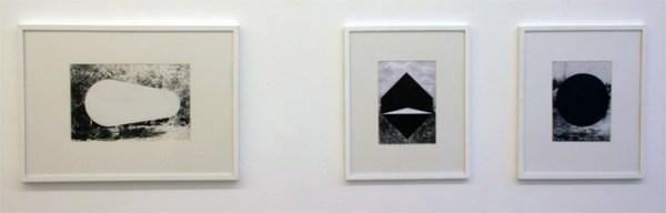 Thijs Zweers - The Gentlemen's Lodge - 50x70cm & Falklands & View of Whatcomb Fall- 50x40 Grafiet op papier