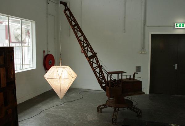 Hans van Bentem - Diamonds and Cranes
