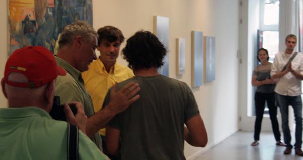 Jonas Wijtenburg krijgt zijn YoungBlood Award 2011