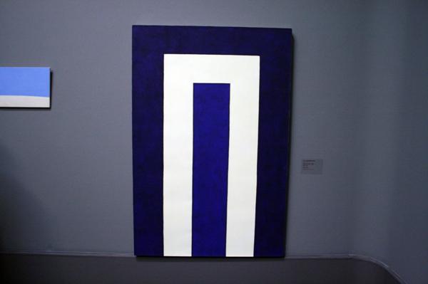 JCJ VANDERHEYDEN - Blauwe Poort - Tempera op doek