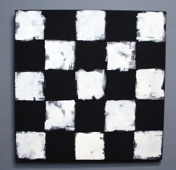 JCJ VANDERHEYDEN - Vijf x Vijf - Acrylverf op doek
