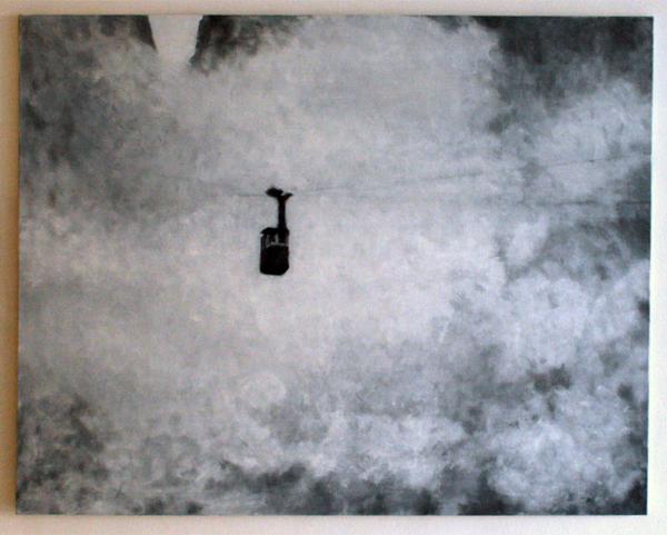 Andrea Radai - 135x170cm Olieverf op linnen