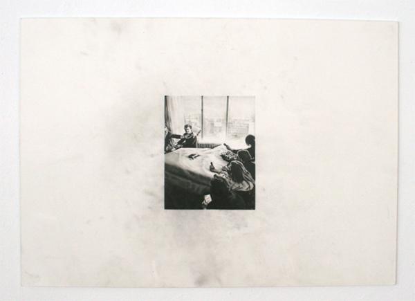 Andreas Albrectsen - Room 902 - 50x70cm Graftiet op papier