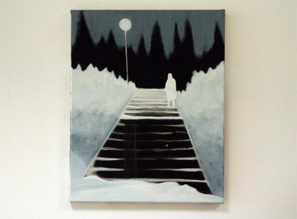 Par Stromberg - The Benefactor - 50x40cm Olieverf op canvas