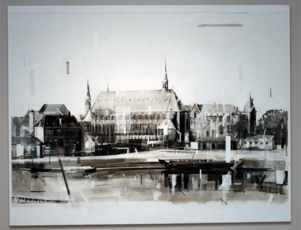 Wessel Huisman - Spirit of Eden - 180x140cm Acrylverf op linnen