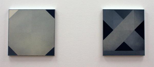 Marthe Wéry - Composition Geometrique - Acrylverf op doek