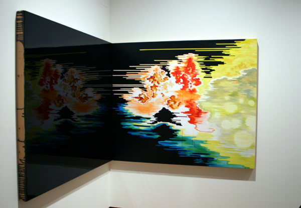Esther Tielemans (1976) - The End of The End - Acrylverf en epoxy op paneel