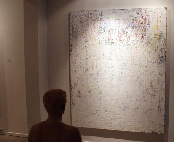 Gijs van Lith - A New Beginning - 200x160cm Olieverf, acrylverf, alkydverf en spuitbus op canvas