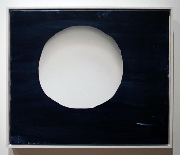 Lieven Hendriks (1970) - Small Moon - Acrylverf op linnen