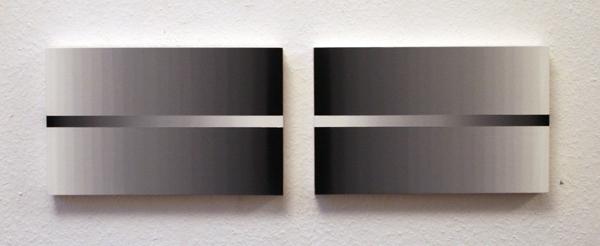 Linda Arts - ZT #193 - 25x85cm Olieverf op paneelen