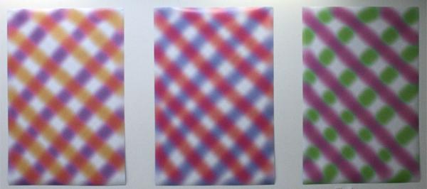 75B - Incoming I, II, III - Inkjet prints