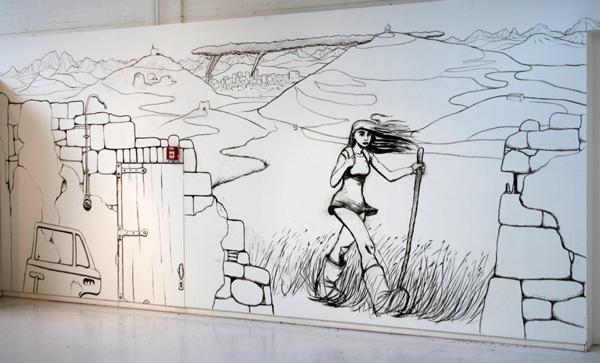 Barend van Hoek - Time Out Uhm In - Installatie