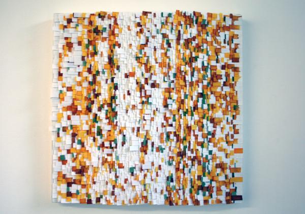 Elbert Mulder - Untitled - 40x40cm Mixed Media