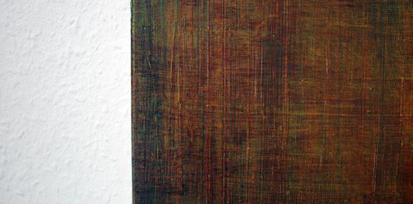 George Meertens - Tijd - 90x80cm Olieverf op doek (detail)