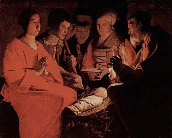 Georges de La Tour - Aanbidding door de herders