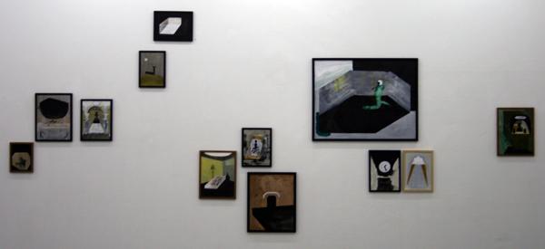 Gosia Machon - Diverse werken - Inkt op papier