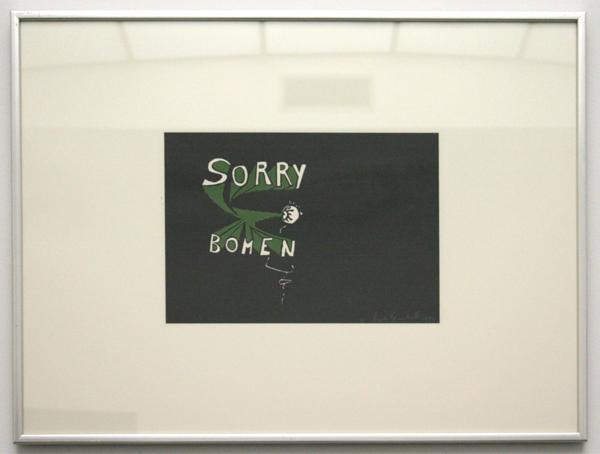 Dick Verdult - Sorry Bomen