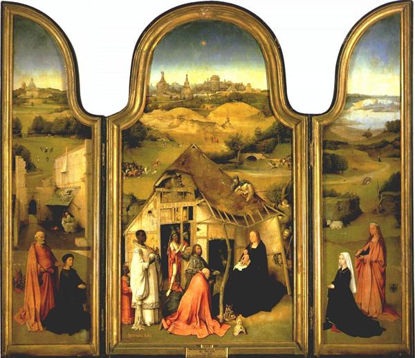 Jheromius Bosch - De Aanbidding door de Koningen