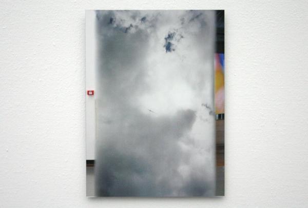 Marijke van Warmerdam - Passing - Zeefdruk op spiegel op dibond
