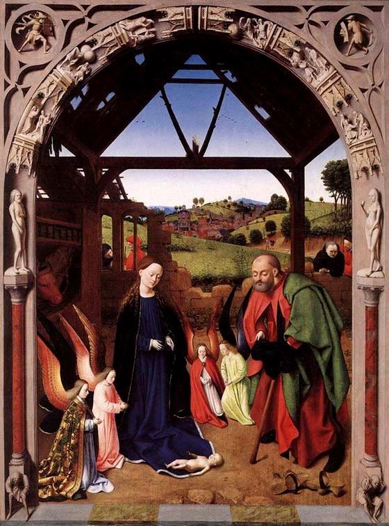 Petrus Christus - De Ontvangenis