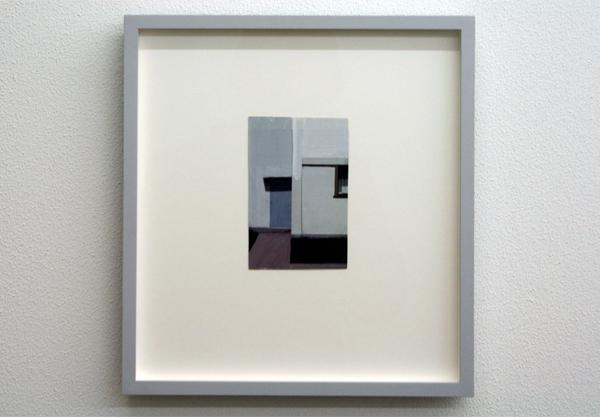 Viktor Baltus - Twee Deuren (serie The Quiet Days) Olieverf op papier op c-print