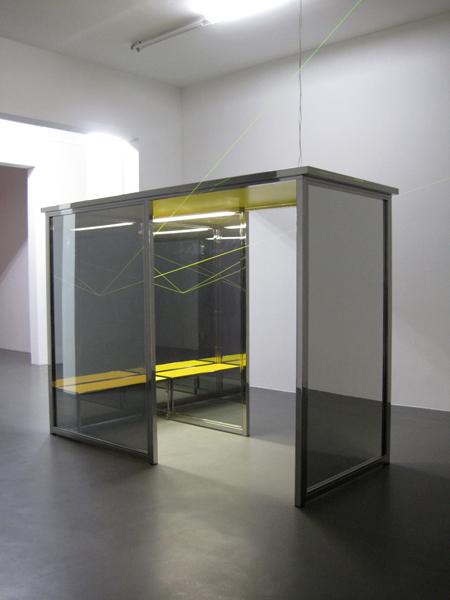 Angela Bulloch - Vanishing Waiting Room - 300x120x250cm mixed media