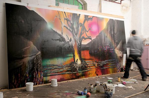 VERKOCHT; Floris van Bommel; Textures | Lost Painters
