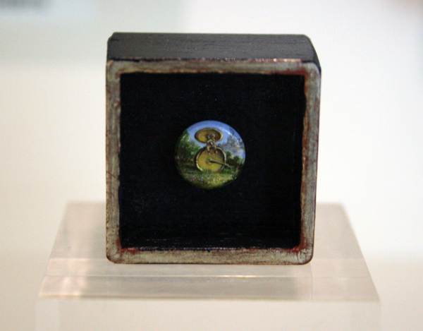 "Karel Sirag ""kleinste miniatuur"""