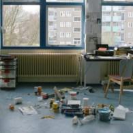 Ik was gisteren in Kipvis (Middelburg) te gast bij Giel Louws. Deze heeft niet alleen een schandalig mooi ruim atelier maar ook erg boeiend werk.