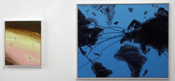 Lieven Hendriks - Onbekende Titel & Cold Reading (map #3) - Onbekende afmetingen & 90x110cm Acrylverf op linnen
