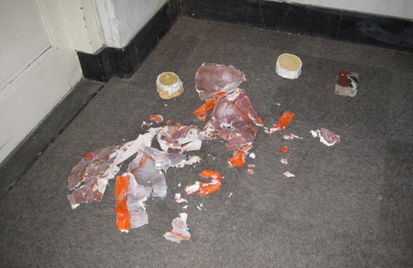 Remy Habets - Scene #6 - Polyurethane, pigment, plastic cooltas