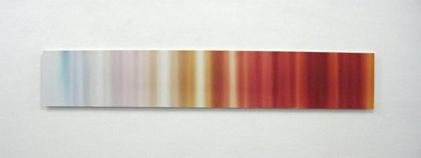 Tanya Long - Untitled (roll #7) - C-print op dibond