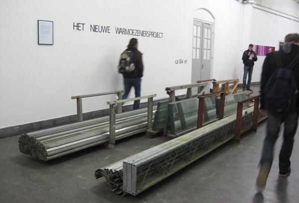 Theodora Kotsi - Het Nieuwe Warmoezeniersproject - Installatie