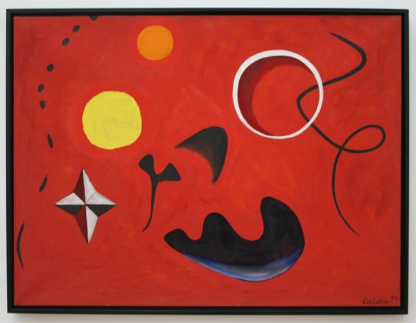 Alexander Calder - Weekdieren - Olieverf op doek