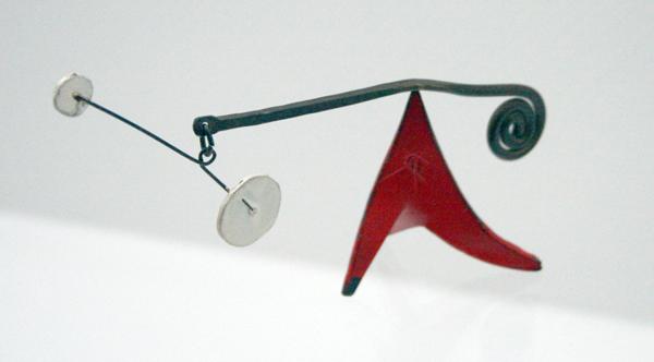 Alexander Calder - Zonder Titel - Beschilderd metaal