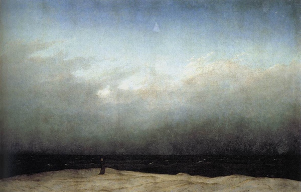 Caspar David Friedrich - Monk by the sea