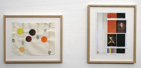 Fritz Bornstuck - Altered Spectrum - 28x31cm Mixed media