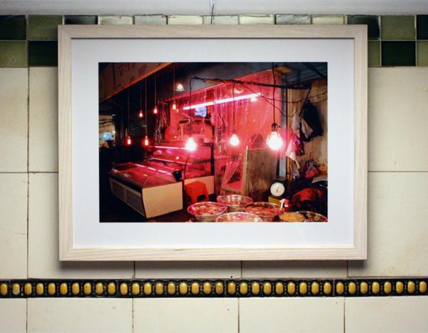 Huub van der Loo - Pink Lights - 30x40cm Lambdaprint