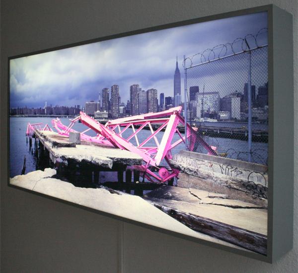 Huub van der Loo - PinkingNY - 70x150cm Duratrans