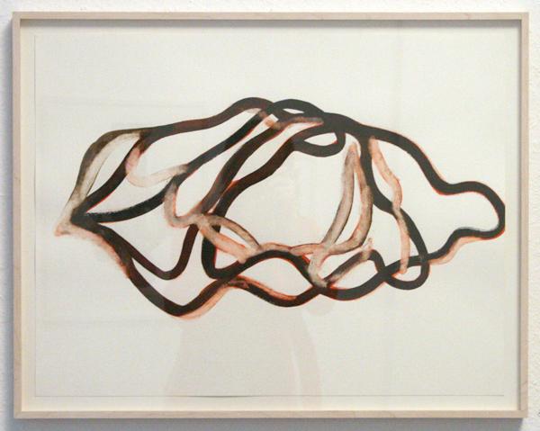 Huub van der Loo - Zonder Titel - 50x65cm Aquarel op papier