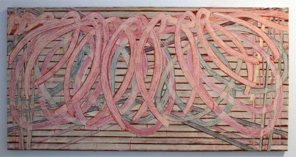 Huub van der Loo - Zonder Titel (Vanitas, De Hang) - 153x300cm Olieverf op linnen