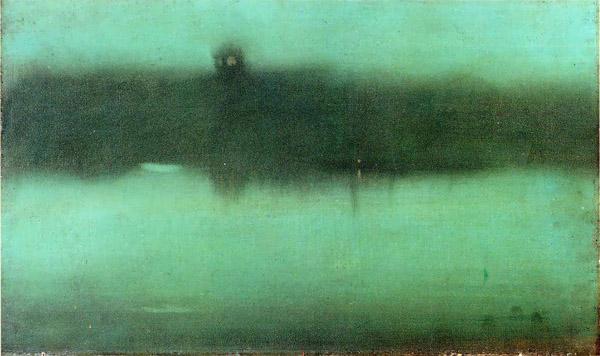 James Whistler - Nocturne