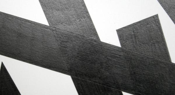 Marc Nagtzaam - Double Shit & Modernist Persuasion (Variant) & Versions - Potlood op papier (detail)