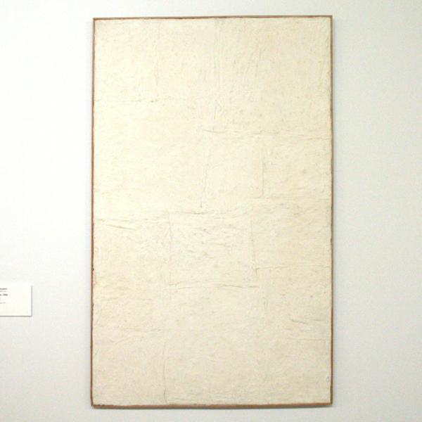 Piero Manzoni - Achrome - Koolien op doek