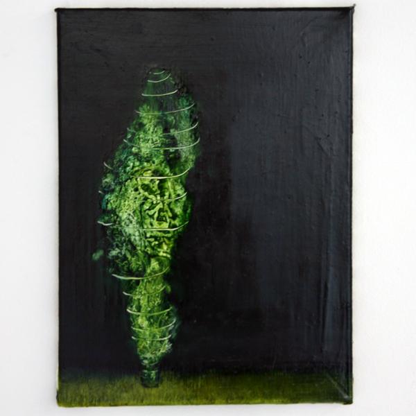Seth Pick - Cypress Tree - 40x30cm Olieverf op canvas