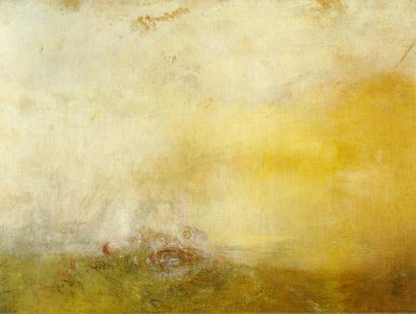 William Turner - Sunrise with Sea Monsters