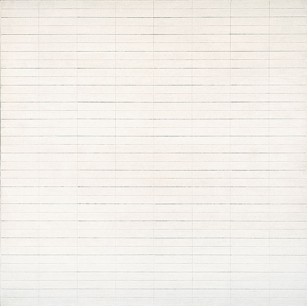 Agnes Martin - Untitled