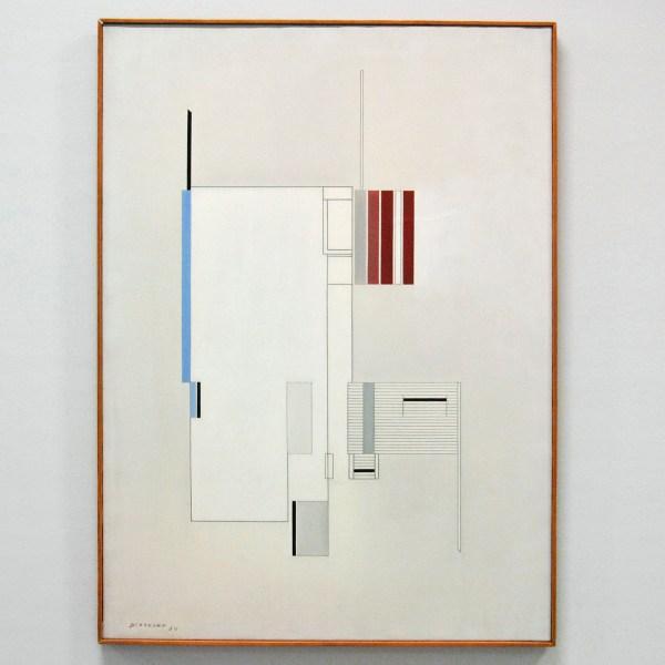 Gaston Bertrand - Peinture Froide - 1954