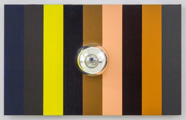 Jan van den Dobbelsteen - Music and Elocution - 49x78x15cm, Acrylverf op hout en glas, 2009