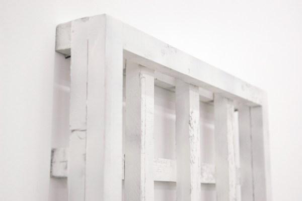 Jan van den Dobbelsteen - Teachings - 56x46x6cm, Lak op hout, 1997 (detail)